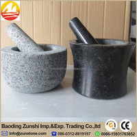 Wholesale Stone Mortar And Pestle/Cooking Tool/Cooking Bowl With Factory Price