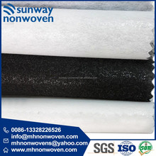 Wholesale Recycled Spunlace Nonwoven Fabric for Synthetic Leather Use