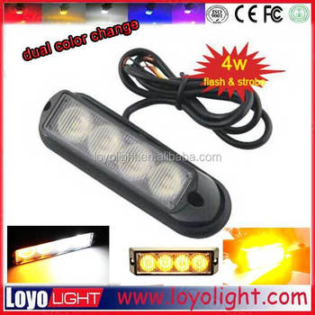 3w 12v led strobe led light bar wireless amber lightbar for vehicle, Jeep