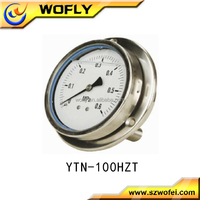Oil filled vibration-proof Pressure gauge