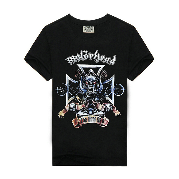 Motorhead rock style t shirts, wholesale hip hop clothing