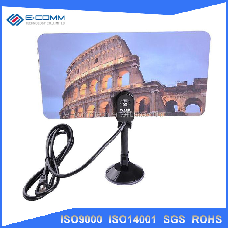 E-comm digital car radio tv antenna outdoor uhf vhf DVB-T-Aerial Connector for HDTV/DTV/TV F Male