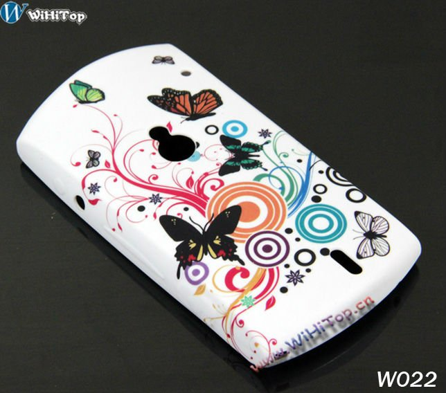 For Sony Ericsson MT15i Case, Butterfly TPU Case for Xperia Neo, Butterfly Case