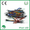 WS2801 pixel 12mm rgb led chian,frosted cover amusement rgb led pixel light