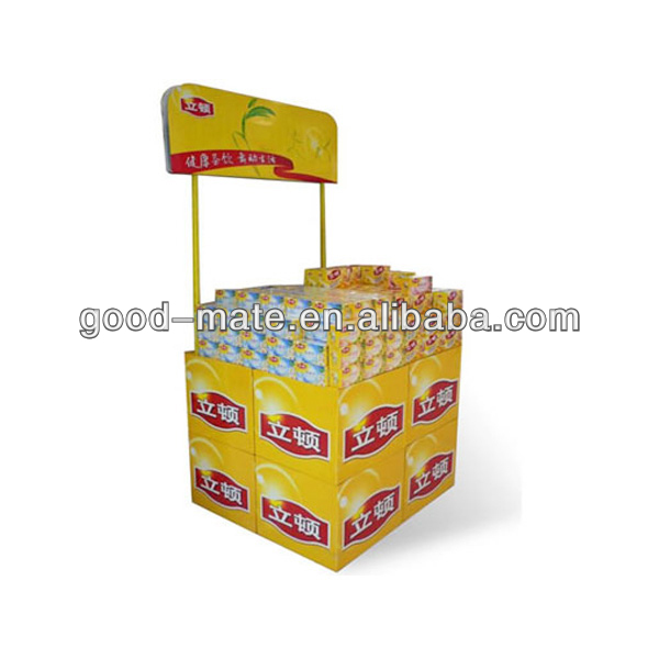 Cardboard Soap Display Counter Top Display for Sales