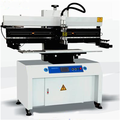 New SMT standard semi-auto screen printing machine ZS-400 for LED pcb board