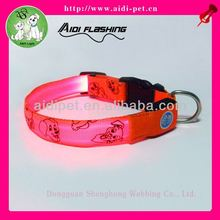 flower pattern pet collar