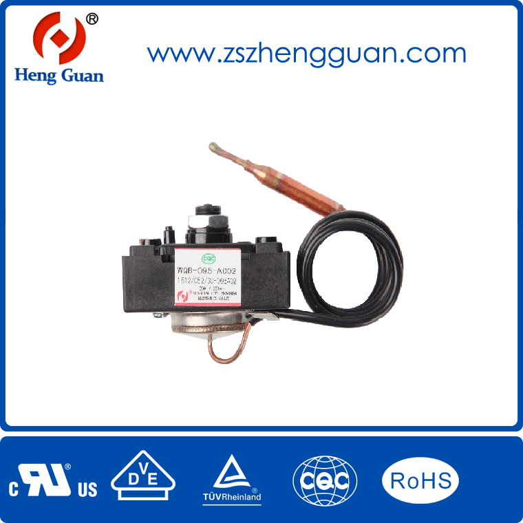 Wide Temperature Electric Water Heater Switch 16a 30a Price Small Manual Control Thermostat