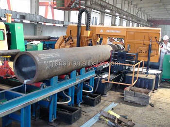 Pipe prefabrication Kick-load Pipe Conveying System for Band Saw Machine