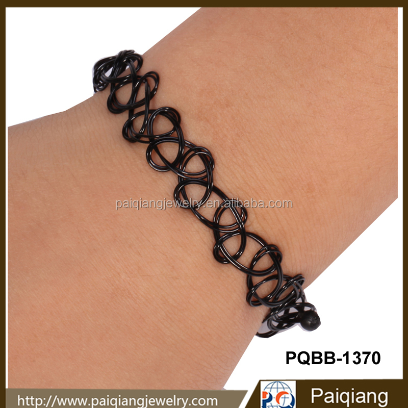 hot selling unique design fashion fishing line weave tattoo bracelet buy tattoo bracelet weave. Black Bedroom Furniture Sets. Home Design Ideas
