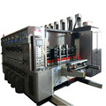 TB-300 High speed full automatic four colour printing slotting die cuting machine