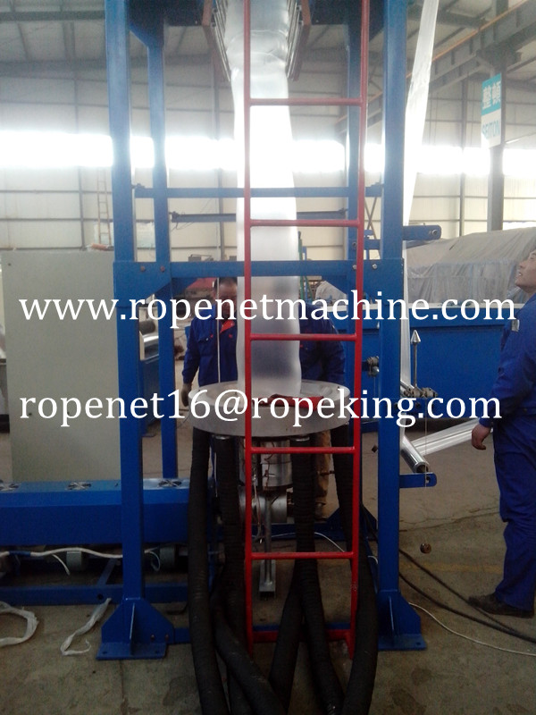 2014 China supplier film blowing machine for plastic bags Email:ropenet16@ropeking.com/skype:Vicky.xu813
