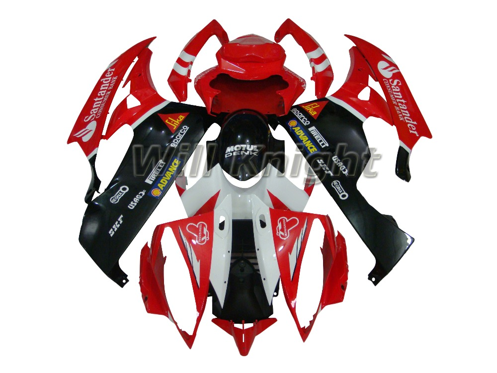 Motorcycle Body Fairing Kit for Yamaha YZF600 2006 2007 Plastic Body Kit for YZF600 R6 2006 2007 Red Black