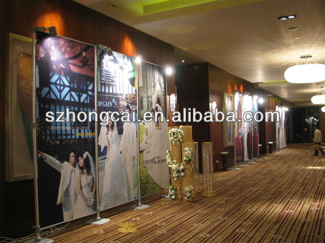 Portable wedding backdrops