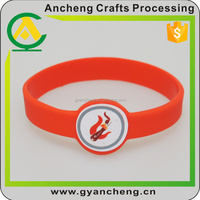 Custom design silicone band for promotion