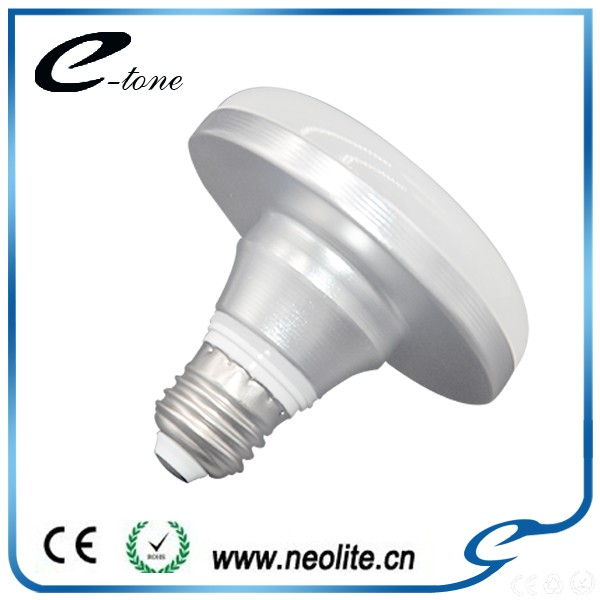 Alibaba China SMD2835 Plastic And Aluminum Material UFO Shape Led Bulb E27 E26 1200 5000 Lumen Light