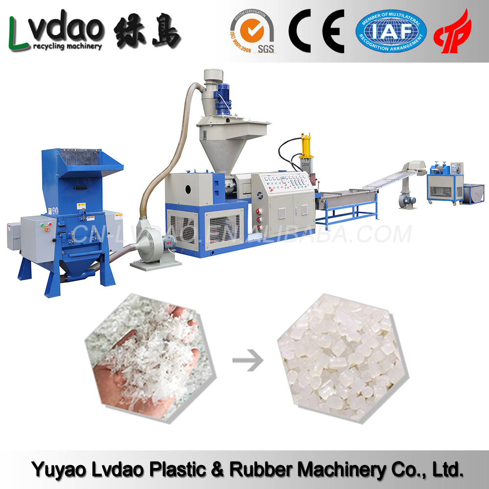 China alibaba pp film recycling machine