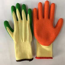 Workers Safety Hand Industrial Latex Rubber Hand Gloves