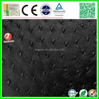 factory stock high quality faux leather embossed fabric