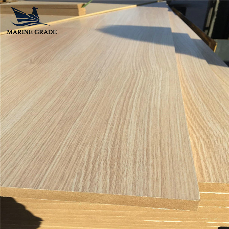 Best price Melamine faced veneer mdf from china supplier