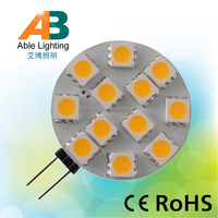 2800K/6000K High CRI 2.4w dimmable g4 led 12v ac