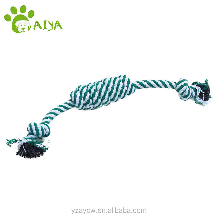 free sample custom large dog toy rope