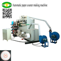 Automatic high yield paper cup coaster making machine