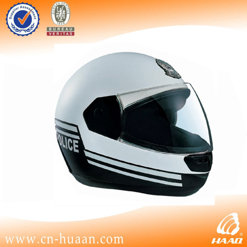full face military police motorcycle helmet
