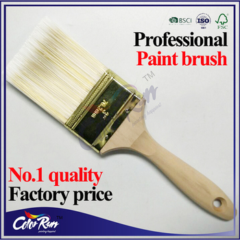 ColorRun wooden handle purdy style paint brushes wholesale