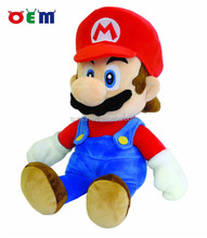 custom of plush doll super mario,custom plush toy