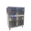 customized dog hospital vet stainless steel steel pet cage