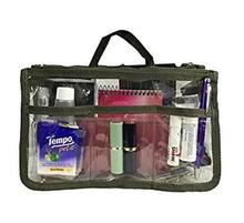 Clear Travel Pouch Toiletry Bag cosmetic bag with handle