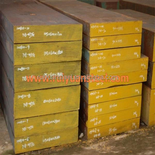 DIN1..2738 P20+Ni 718 8407 High polish Forged plastic mould steel block manufactory in china