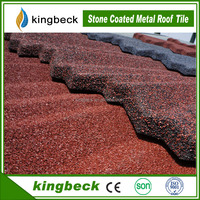 Large Supply Lightweight Kingbeck Stone Coated Steel Metal Roof Tiles