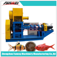 Pet Food Pellet Extruder/Fish Feed Making Machine/Cat Food Machinery