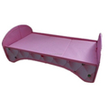 Custom polycotton and cardboard miniatures doll furniture doll bed
