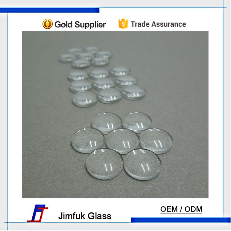 wholesale custom tempered glass plano convex magnifying lens