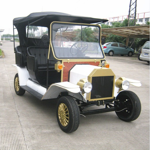 4 people electric classic vehicle with high-grade seat