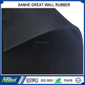 wear resistant industrial SBR rubber sheet abrasion loss 150mm3 rubber lining