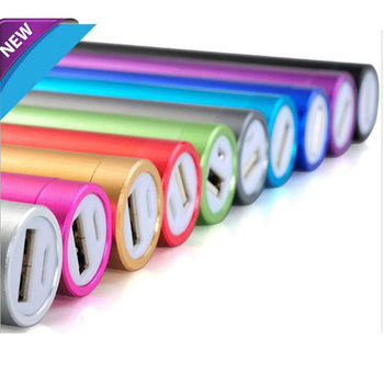 Hot selling Portable Power Bank with 2200mah Mutil Colors