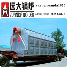 1.25Mpa chain grate boiler pressure steam cleaning