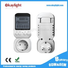 Plug-in wireless digital display energy meter high precision voltage watt