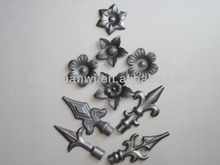 ornament wrought iron gate part
