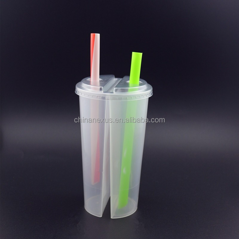700ml Twins PP cup, Cold / Hot Drink Shared Cup