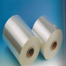 Center folded shrink plastic film roll with customized size