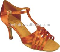 High heel latin dance shoes