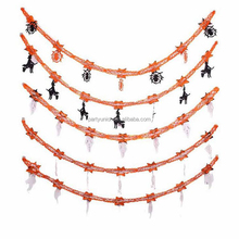 Hot Sale Halloween Garland Banner for Pumpkin Bat Ghost Hanging Halloween Party Decorations