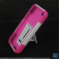 Silicone and PC hybrid case for iPhone 5C original P-IPH5CHCSO004