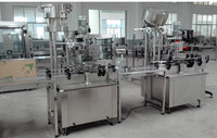 fully automatic screwed aluminium caps capping machine used for vodka bottle