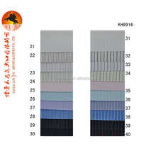 80% cotton 20% superfine polyester narrow stripe shirt fabric